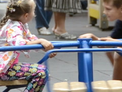 Children at a playground. Related clips are in my portfolio in 1920x1080. Stock Footage