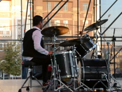 Musical collective. Related clips are in my portfolio in 1920x1080. - stock footage