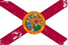 Florida state flag Stock Illustration