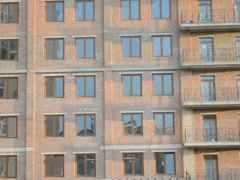 Big office building. Related clips are in my portfolio in 1920x1080. Stock Footage