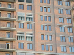 Building under construction. Related clips are in my portfolio in 1920x1080. Stock Footage