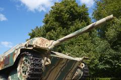 panzer tank - stock photo