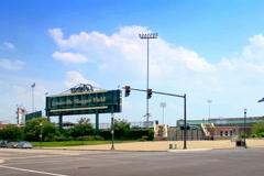 Louisville Slugger field Stock Footage