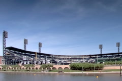 PNC ball park Stock Footage