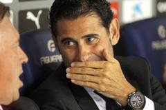 Real Madrid Sporting Director Manolo Hierro - stock photo