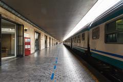 Stock Photo of central railway station livorno