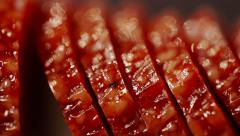 FEW SHOTS! Sausage, Meat, Beef Products composition Stock Footage