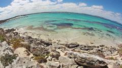 Stock Video Footage of Timelapse video of the Vivonne Bay on Kangaroo Island, South Australia