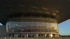 0620 UHD Copenhagen Opera House Stock Footage