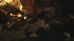 Camp stove Stock Footage