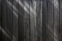 Black wood plank background Stock Photos