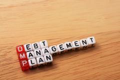 Dmp debt management plan Kuvituskuvat