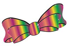 Jazz satin bow Stock Illustration