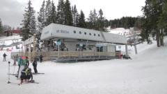 Ski lift - Transarcs Stock Footage