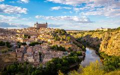 Toledo cityscape spain Kuvituskuvat
