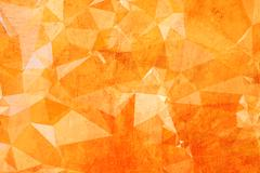 low poly triangular abstract background - stock photo