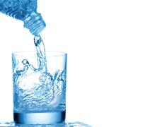 mineral water - stock photo