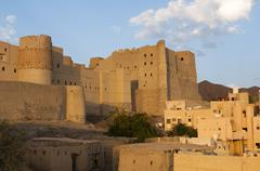 Stock Photo of Bahla Fort, UNESCO World Heritage Site, Oman, Middle East