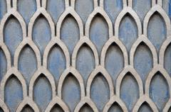 Textured wall geometric pattern Stock Photos