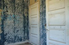 Forgotten doors Stock Photos