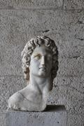 helios statue - stock photo