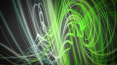 Fantastic eco video animation with wave object in motion, loop hd 1080p Stock Footage