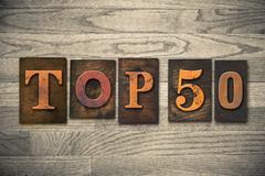 Top 50 concept wooden letterpress type Stock Photos
