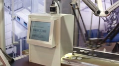 Rudder system with the functionality of the robot to move Stock Footage
