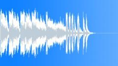 Jazz step logo or intro stinger 0001 - sound effect