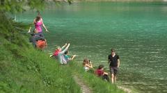 Green Lake 4 Stock Footage