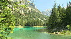 Green Lake Austria - stock footage