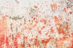 Concrete wall with blood splatters Kuvituskuvat