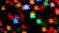 stars colors background - stock footage