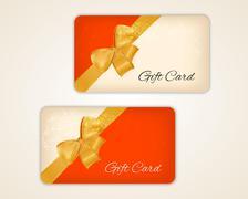Gift card Stock Illustration