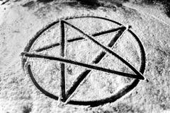 Pentagram closeup photo Kuvituskuvat