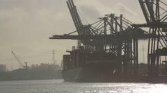 Hamburg-Hafen-06 - stock footage