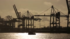 Hamburg-Hafen-08 - stock footage