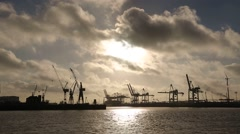 Hamburg-Hafen-14-TL - stock footage