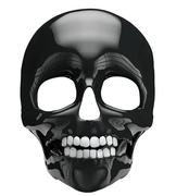 Black skull Stock Illustration