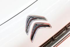 Citroen Car Sign - stock photo