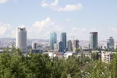 Ankara, Capital city of Turkey Stock Photos