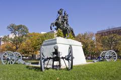 Andrew Jackson Statue Stock Photos