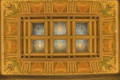 Interior of Library of Congress, Washington, DC Stock Photos