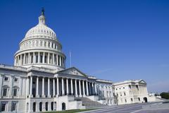 Capitol Building of USA - stock photo