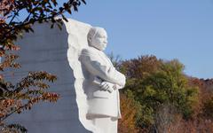 Martin Luther King Jr. Monument - stock photo