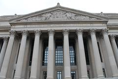 National Archives Building of USA - stock photo