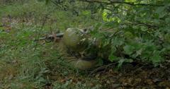 german soldier ambush 05 - stock footage