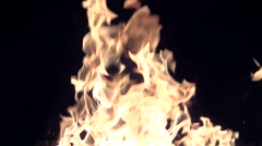 Flame or fire - stock footage