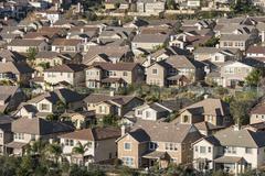 Dense suburban housing Kuvituskuvat