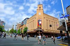 Auckland civic theatre - new zealand Stock Photos